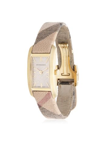 Burberry Tricolor Gold Pioneer Dial Ion-plated Watch
