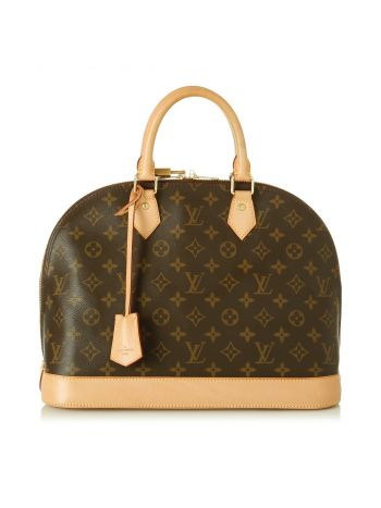 Louis Vuitton Monogram Alma MM Bag