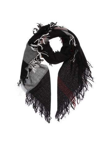 burberry Bicolor Check Scarf