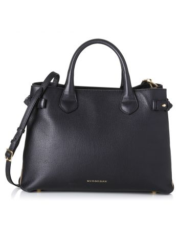 Burberry Black Banner Tote Bag Medium