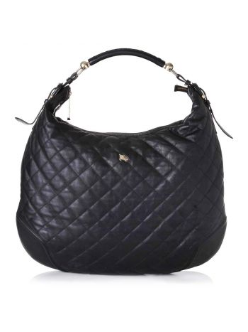 burberry Black Hoxton Hobo Bag
