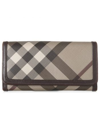 Burberry Brown House Check Wallet
