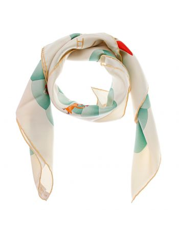 Bvlgari Colorful Scarf