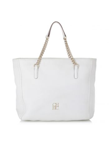 Carolina Herrera White Bag