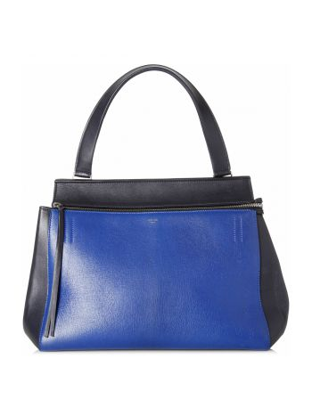Celine Bicolor Edge Shoulder Bag