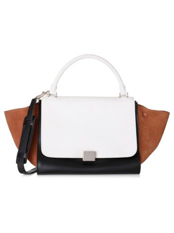 Celine Tricolor Trapeze Medium