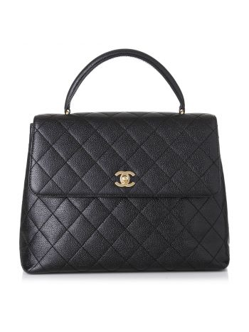 Chanel Black Coco Large Bag