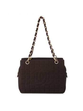 Chanel Brown CC Shoulder Bag