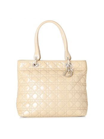 Christian Dior Biege Lady Dior Bag