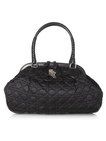 Christian Dior Black Charming Doctors Tote Bag