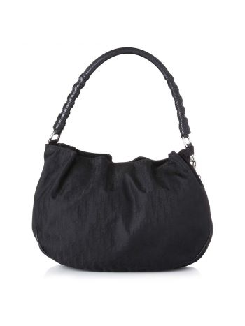 Christian Dior Black Lovely Hobo Bag Medium