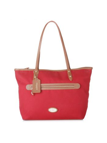 Sawyer Classic Red Canvas Tote
