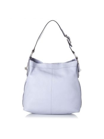 Coach White Penelope Adjustable Shoulder Bag