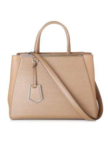 Fendi 2 Jours Brown Bag