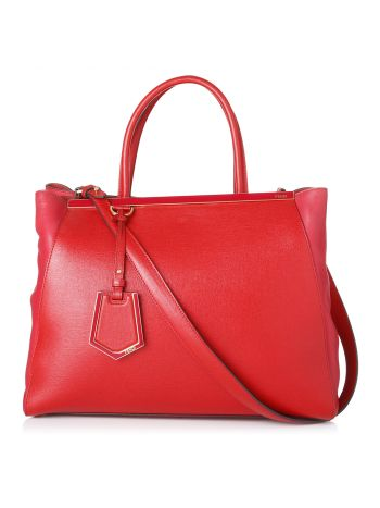 Fendi Red 2 Jours Bag