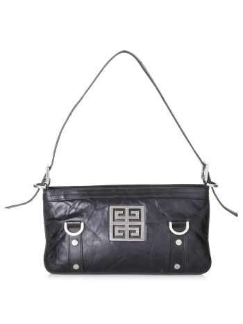 Givenchy Black 4G Hobo Bag