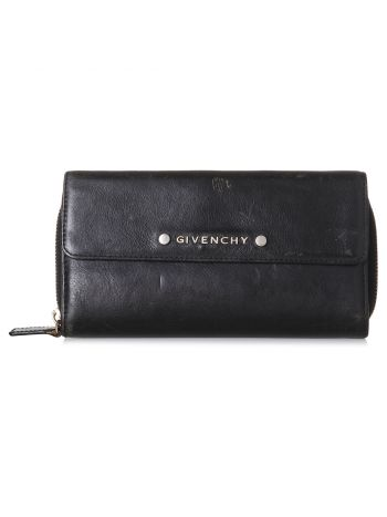 Givenchy Black Long Wallet