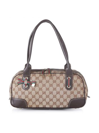 Gucci Bicolor GG Princy Boston Bag