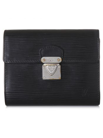 Louis Vuitton Noir Koala Wallet