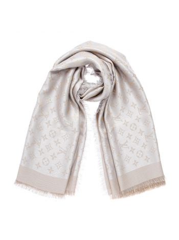 Louis Vuitton Beige Shine Shawl