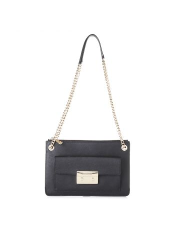 Michael Kors Black Front Pocket Bag
