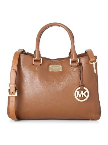 Michael Kors Camel Hamilton Shoulder Bag