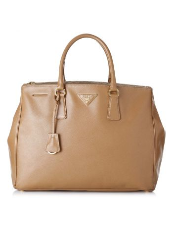 Prada Brown Galleria Large Bag