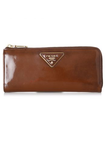 Prada Brown Wallet