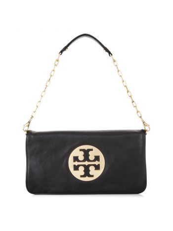 Tory Burch Black Reva Clutch