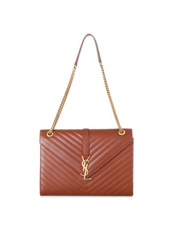 YSL Brown Envelope