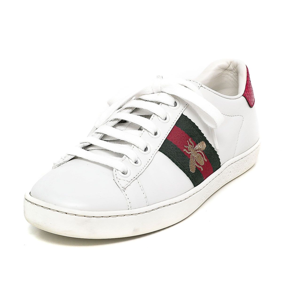 Ace Embroidered Bee Sneakers 36