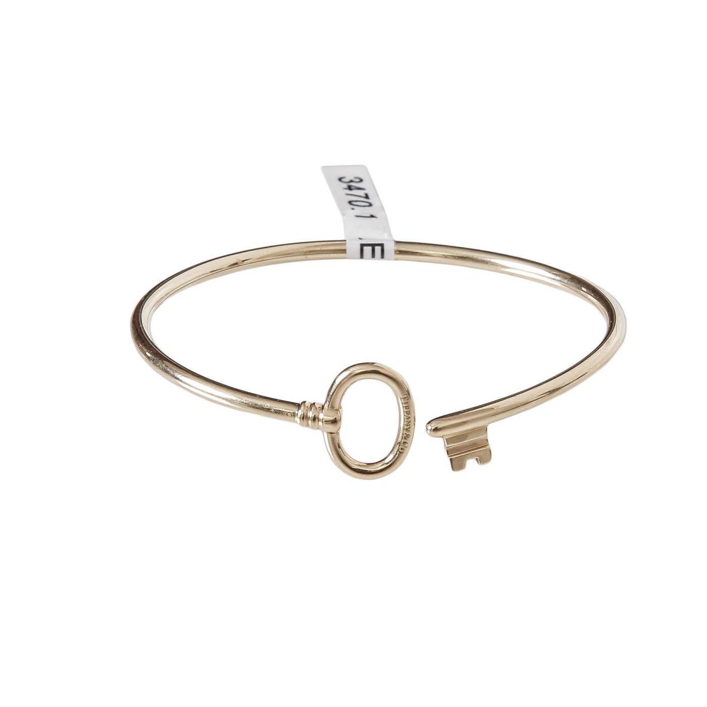 Tiffany & Co. Key Wire 18K Yellow Gold Bracelet