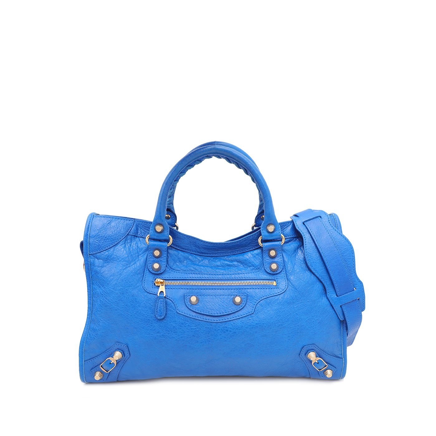 Balenciaga Blue Giant 12 City Bag