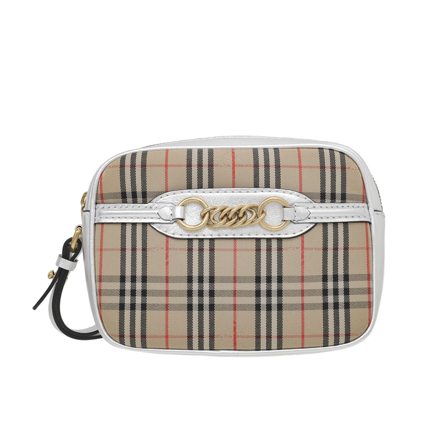 Burberry Bicolor1983 Check with Link Detail Bumbag