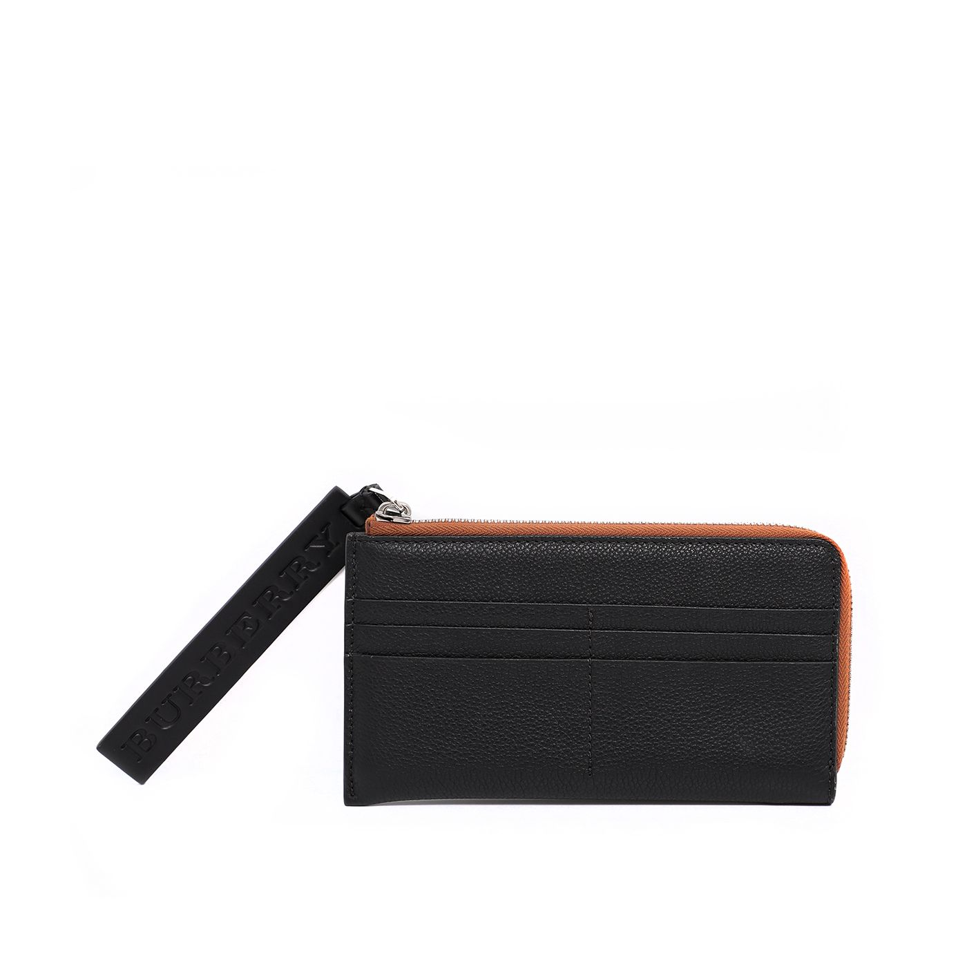 Burberry Bicolor Pebbled Cole Wallet