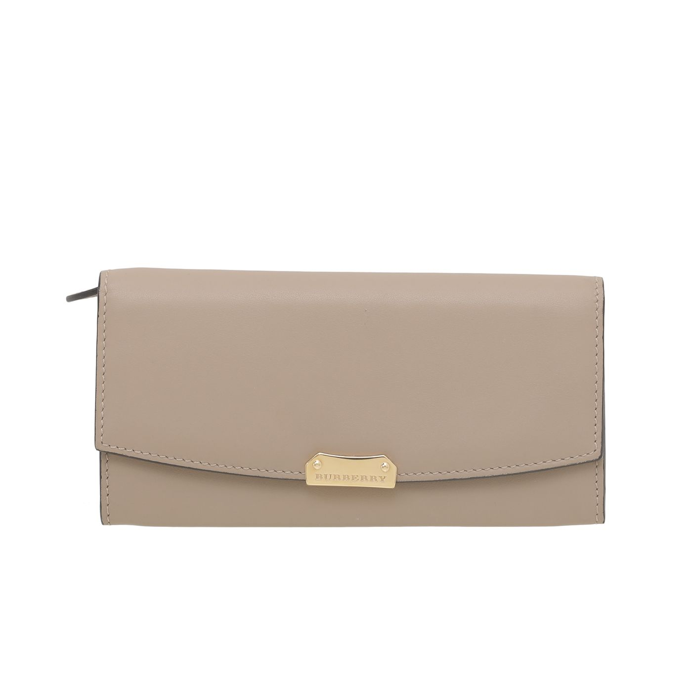 Burberry Camel Continental Wallet
