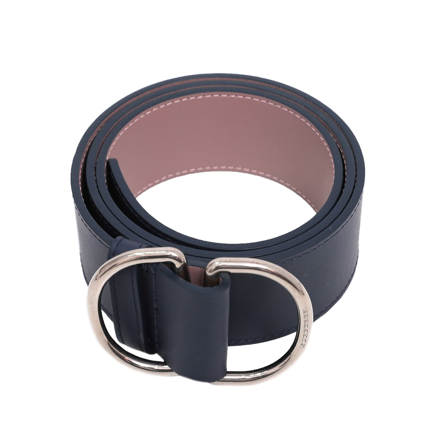 Burberry Bicolor Double D Ring Buckle Belt Small