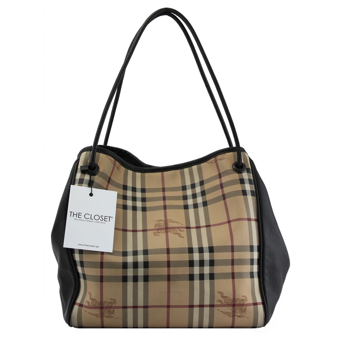 Burberry Canterburry Knots Tote