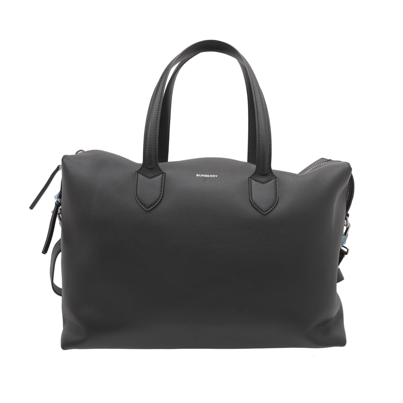 Burberry Black Lawrence Holdall Weekender Bag