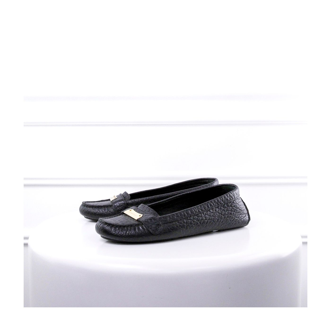 Burberry Black Loafer Ballerina 37