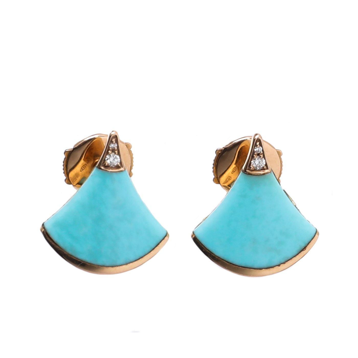 Bvlgari Turquoise Diva's Dream Earrings