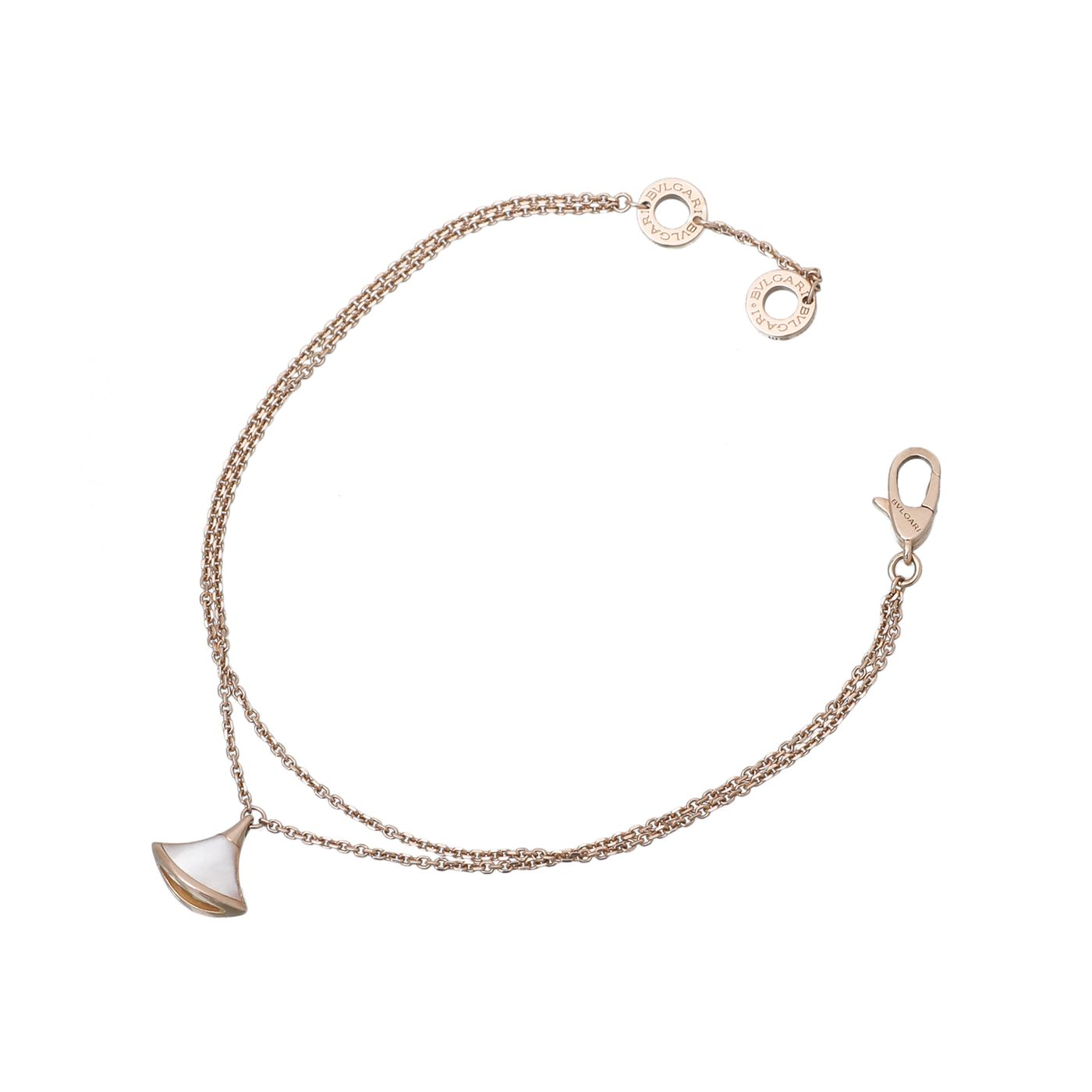 Bvlgari 18K Rose Gold Divas Dream Bracelet SM