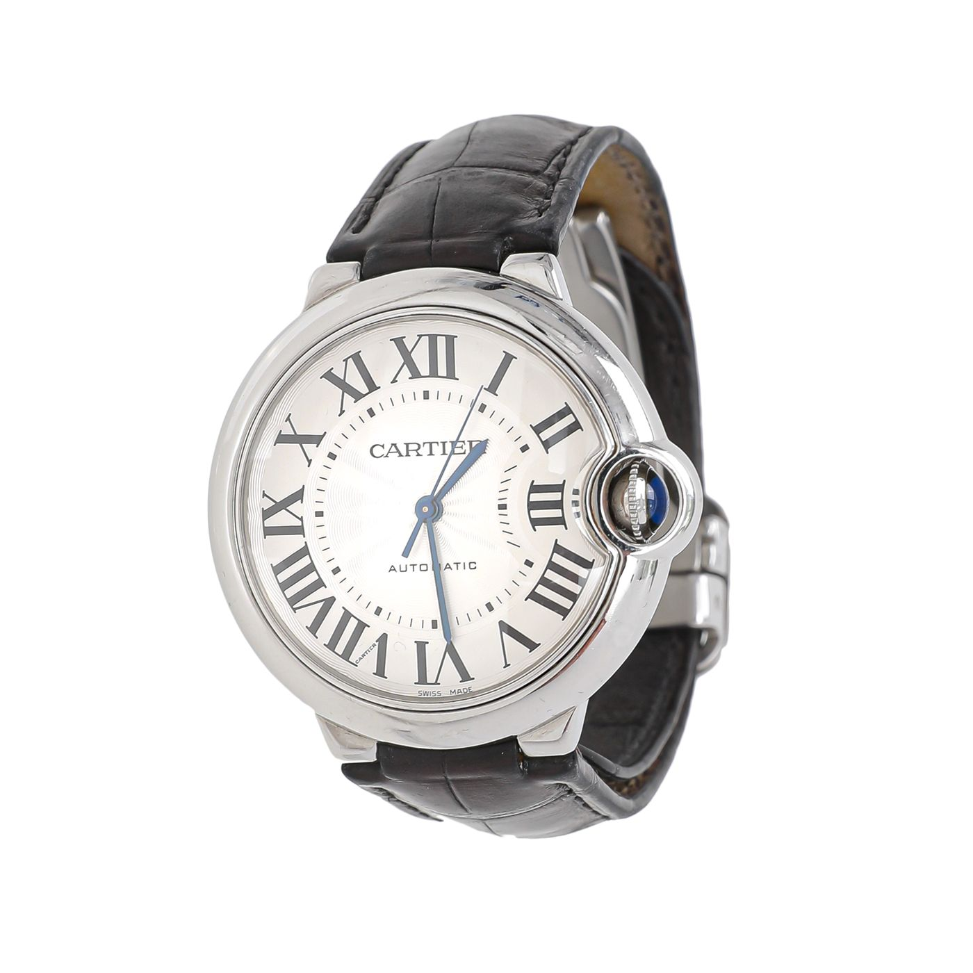 Cartier Black Ballon Bleu De Cartier Watch