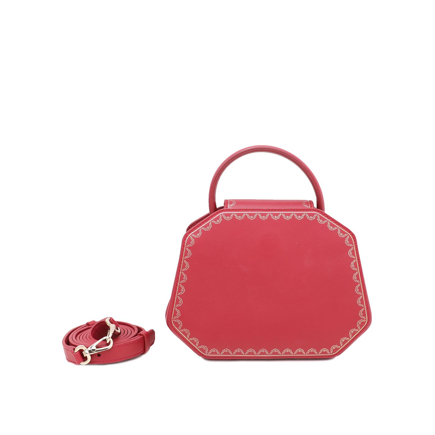 Cartier Red Guirlande De Cartier Mini Bag