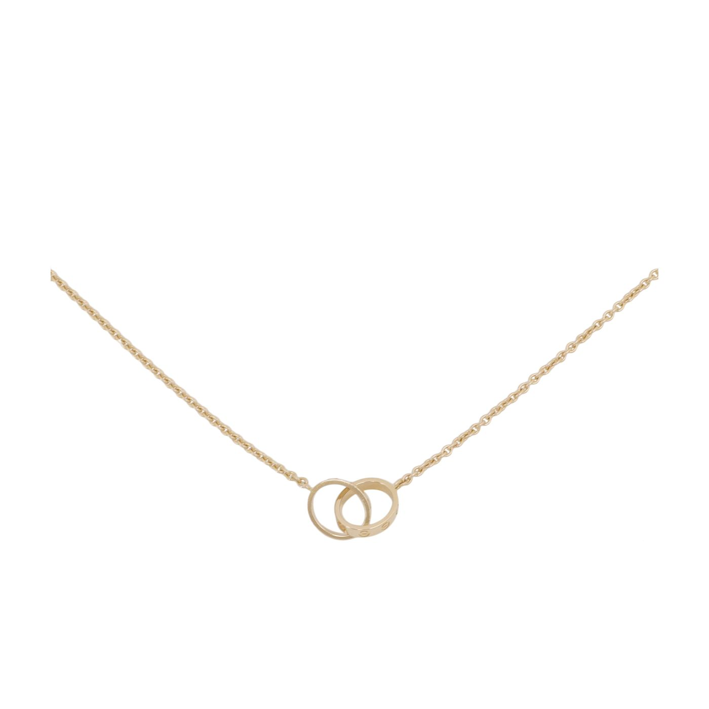 Cartier 18K Yellow Gold Love Necklace