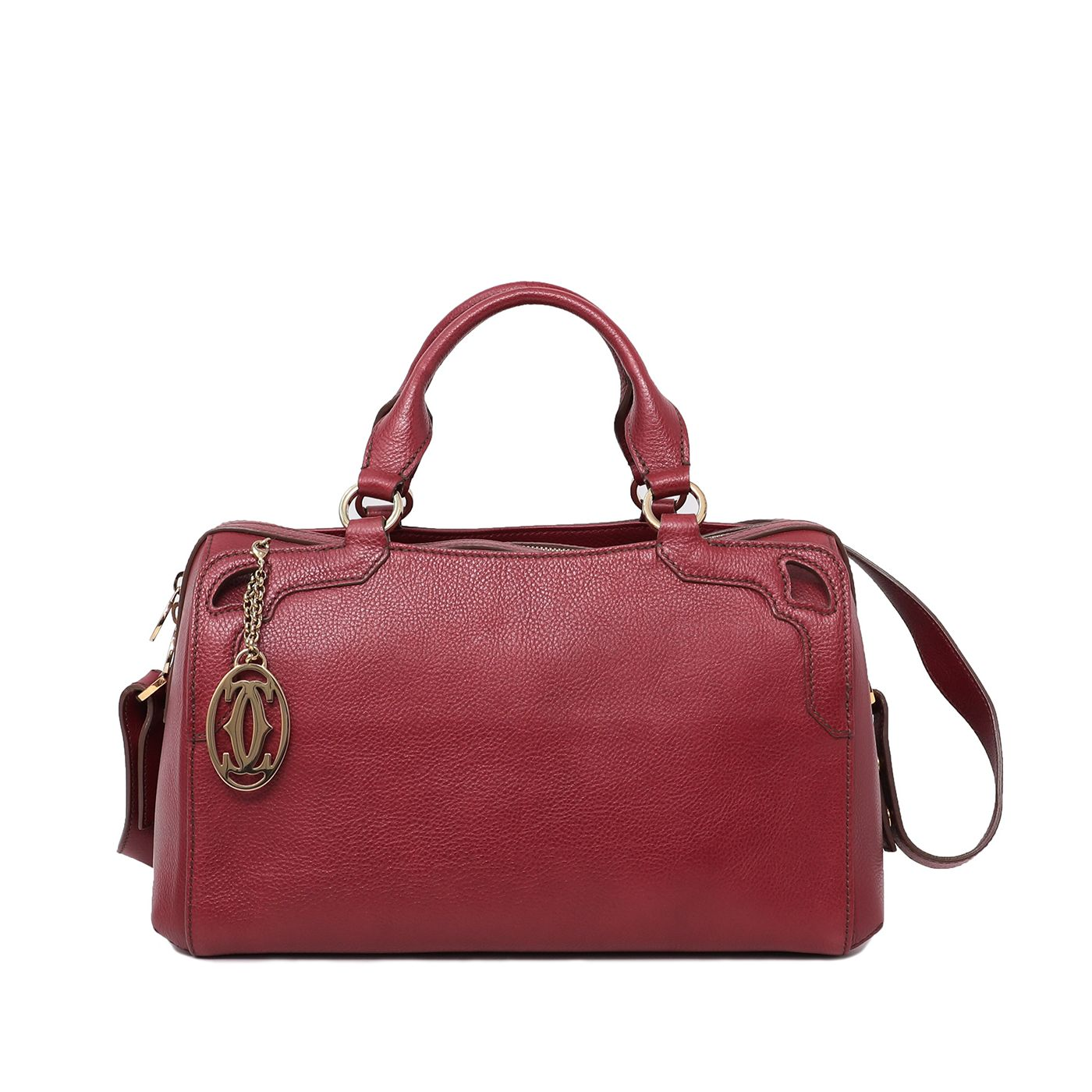 Cartier Spinel Red Marcello De Cartier Bowling Bag