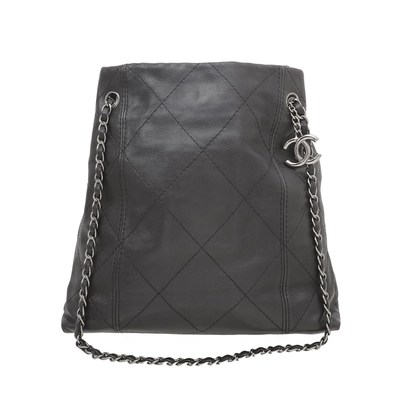 Chanel Black CSoft Touch Tote Bag