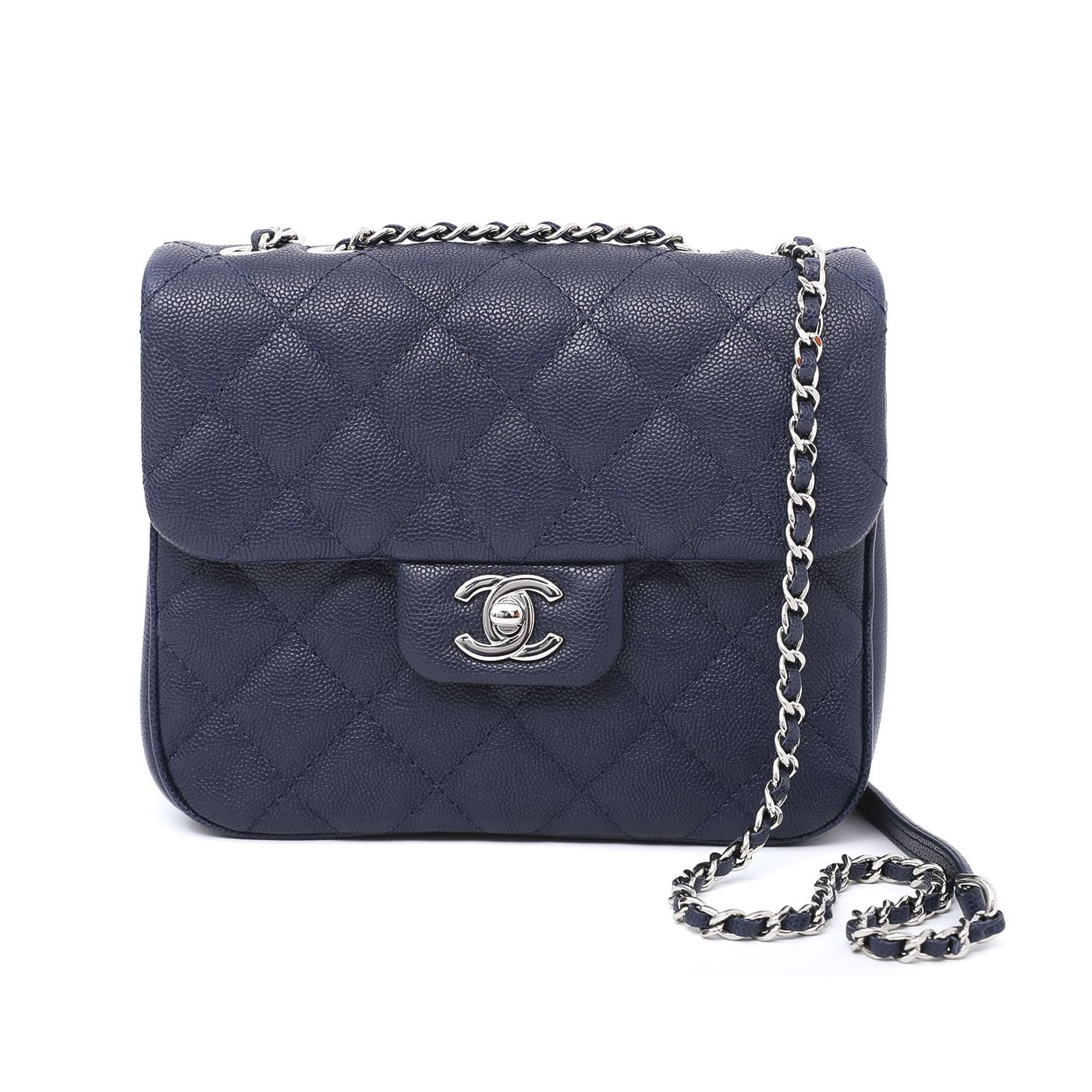 Chanel Deep Blue CC Urban Companion Flap Bag