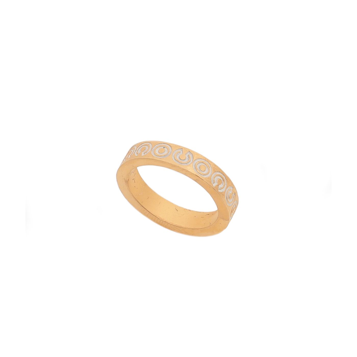 Chanel Yellow Gold Coco Ring