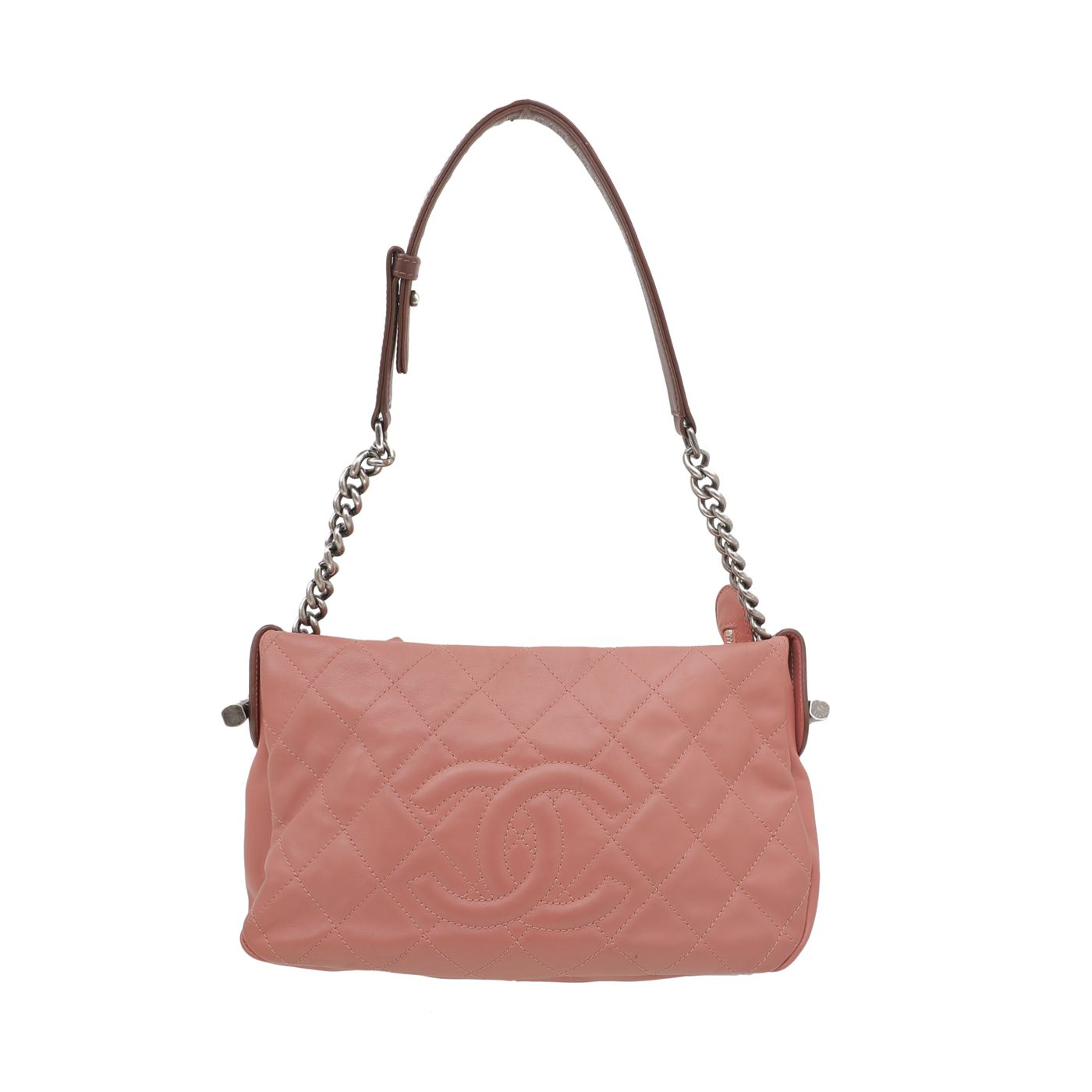 Chanel Peach Country Shoulder Bag